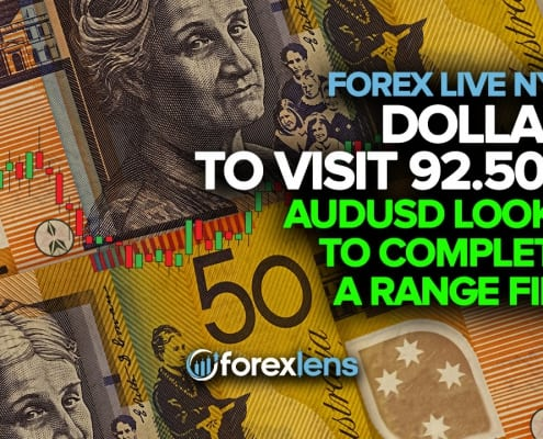 Dollar to Visit 92.500, AUDUSD Looks to Complete a Range Fill
