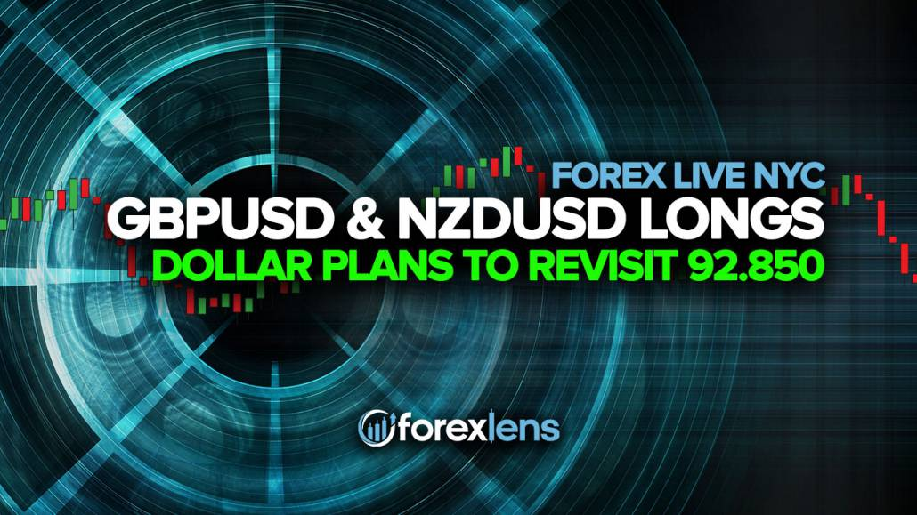 GBPUSD and NZDUSD Longs as the Dollar Plans to Revisit 92.850