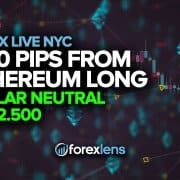 +150 Pips from Ethereum Long + Dollar Neutral at 92.500