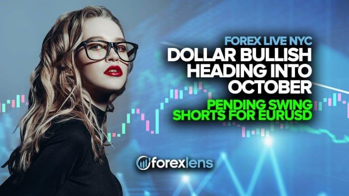 Dollar Bullish Heading into October + Pending Swing Shorts for EURUSD
