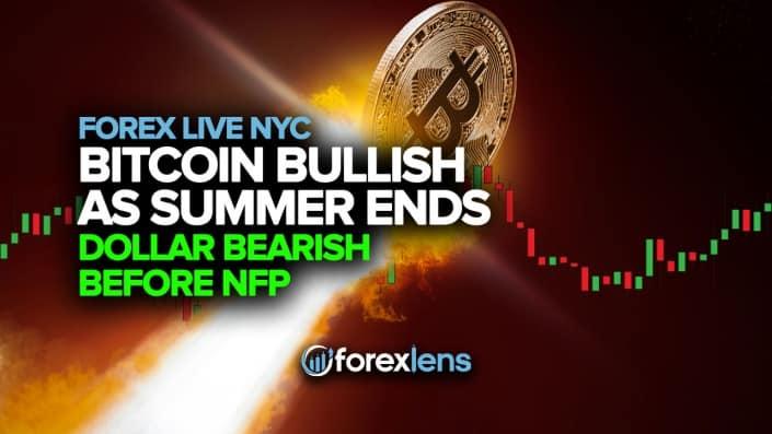 Bitcoin Turns Bullish as Summer Ends + Dollar Turns Bearish Before NFP