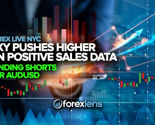 DXY Pushes Higher on Positive Sales Data + Pending Shorts for AUDUSD