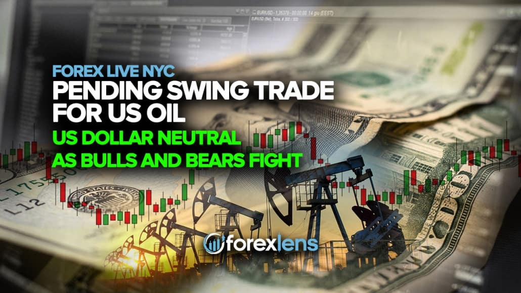 Pending Swing Trade for US Oil + US Dollar Neutral as Bulls and Bears Fight