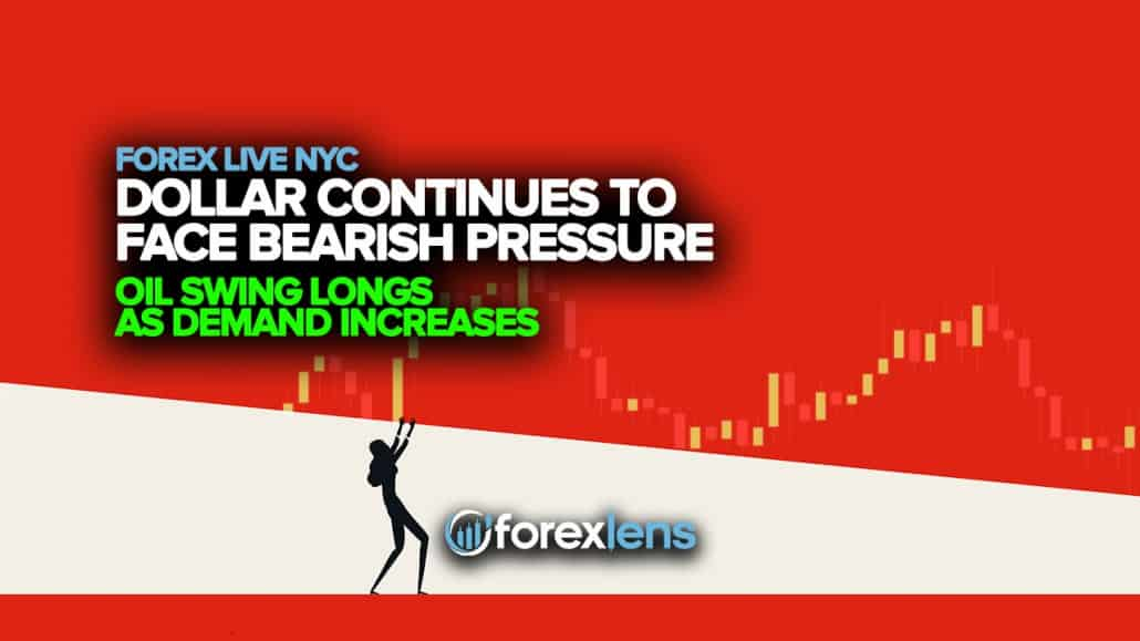 Dollar Continues to Face Bearish Pressure + Oil Swing Longs as Demand Increases