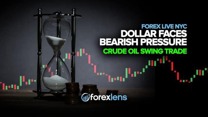 Dollar Faces Bearish Pressure + Crude Oil Swing Trade