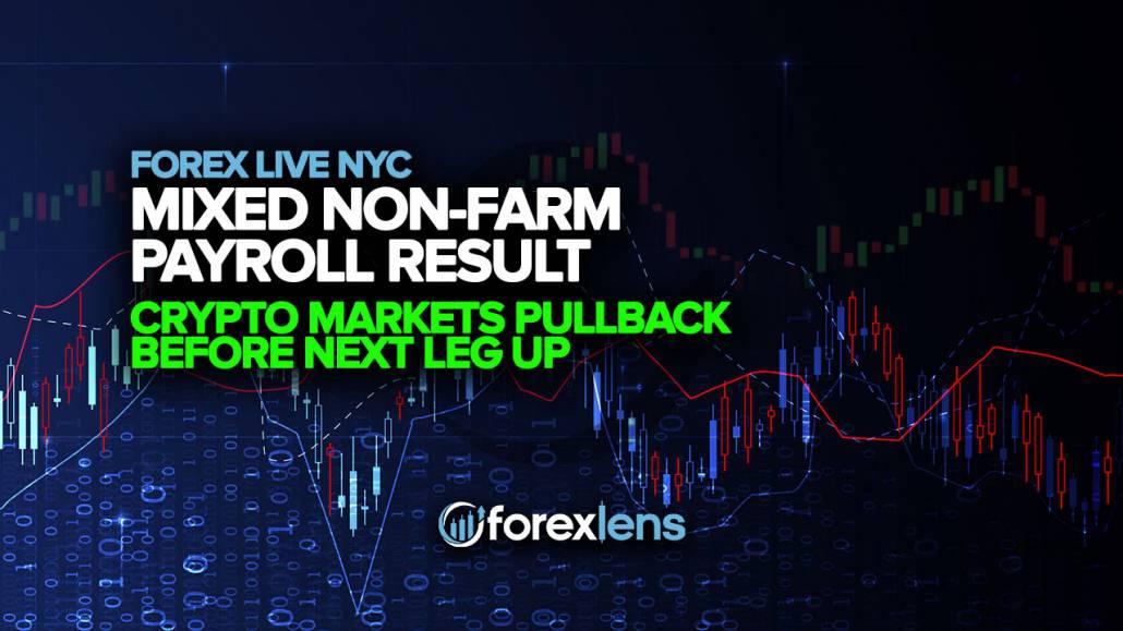 Mixed Non-Farm Payroll Result + Crypto Markets Pullback Before Next Leg Up
